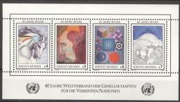 UNO Wien Block 3 ** Postfrisch - Blocks & Kleinbögen