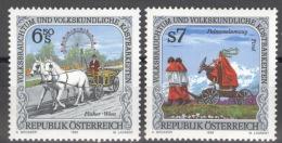 Österreich 2248/49 ** Postfrisch - 1945-.... 2. Republik