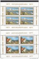 EUROPA CEPT, Mitläufer: RUMÄNIEN Block 141-142 Postfrisch **, Intereuropa 1977 - Europa-CEPT