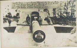 """KOEKELARE-GUERRE 1914/1918-CANON """"DE LANGE MAX""""-militaria-oorlog-war - Koekelare"""