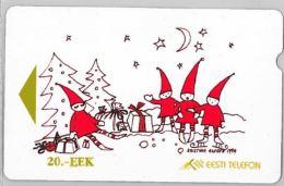 PHONE CARD- ESTONIA (E26.3.1 - Estonia