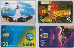LOT 4 PHONE CARD- ESTONIA (E26.4.1 - Estonia