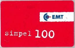 PHONE CARD- ESTONIA (E26.5A.3 - Estonia