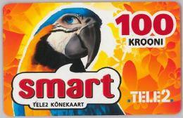 PREPAID PHONE CARD- TELE 2ESTONIA (E26.5A.5 - Estonia