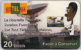 PREPAID PHONE CARD- MALI (E26.7.6 - Mali
