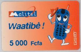 PREPAID PHONE CARD- MALI (E26.7.8 - Mali