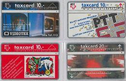 LOT 4 PHONE CARD- SVIZZERA (E26.9.5 - Svizzera