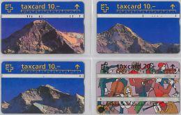 LOT 4 PHONE CARD- SVIZZERA (E26.10.1 - Svizzera