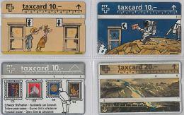 LOT 4 PHONE CARD- SVIZZERA (E26.10.5 - Svizzera