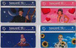 LOT 4 PHONE CARD- SVIZZERA (E26.11.5 - Svizzera