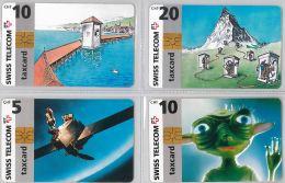 LOT 4 PHONE CARD- SVIZZERA (E26.15.5 - Schweiz
