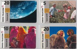 LOT 4 PHONE CARD- SVIZZERA (E26.16.1 - Svizzera