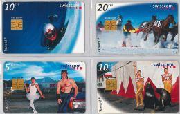 LOT 4 PHONE CARD- SVIZZERA (E26.17.5 - Schweiz