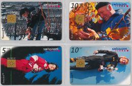 LOT 4 PHONE CARD- SVIZZERA (E26.18.1 - Svizzera