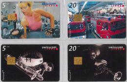 LOT 4 PHONE CARD- SVIZZERA (E26.18.5 - Svizzera