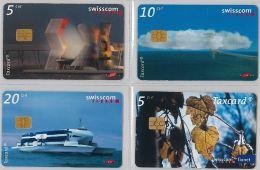 LOT 4 PHONE CARD- SVIZZERA (E26.19.1 - Svizzera