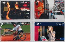 LOT 4 PHONE CARD- SVIZZERA (E26.22.1 - Svizzera