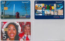 LOT 3 PHONE CARD- SVIZZERA (E26.22.5 - Svizzera