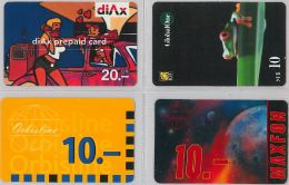 LOT 4 PREPAID PHONE CARD- SVIZZERA (E26.25.1 - Svizzera