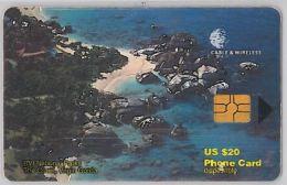 PHONE CARD- ISOLE VERGINI (E27.3.6 - Isole Vergini
