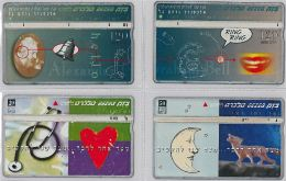 LOT 4 PHONE CARD- ISRAELE (E27.17.1 - Israele