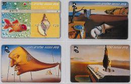 LOT 4 PHONE CARD- ISRAELE (E27.17.5 - Israele