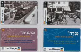 LOT 4 PHONE CARD- ISRAELE (E27.18.5 - Israele