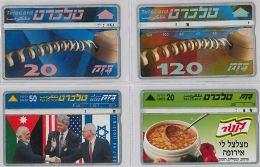 LOT 4 PHONE CARD- ISRAELE (E27.19.5 - Israel