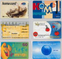 LOT 6 PREPAID PHONE CARD- ISRAELE (E27.27.3 - Israele