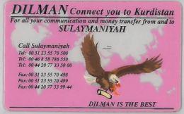 PREPAID PHONE CARD- KURDISTAN (E27.29.3 - Phonecards