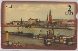 PHONE CARD- LATVIA(LETTONIA) (E27.30.7 - Latvia
