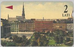 PHONE CARD- LATVIA(LETTONIA) (E27.30.8 - Latvia