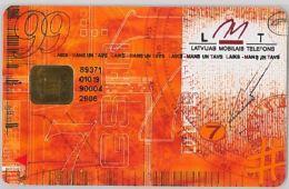 GSM WITH CHIPLATVIA(LETTONIA) (E27.32.7 - Latvia