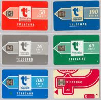 LOT 6 PHONE CARD- MALTA (E27.33.3 - Malta