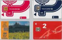 LOT 4 PHONE CARD- MALTA (E27.34.1 - Malta