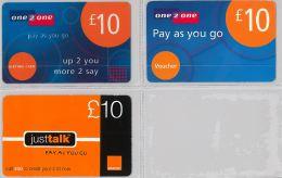 LOT 3 PREPAID PHONE CARD- MALTA (E27.37.3 - Malta