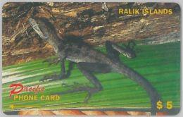 PHONE CARD- RALIK - ISOLE MARSHALL (E27.38.4 - Marshall Islands