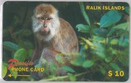 PHONE CARD- RALIK - ISOLE MARSHALL (E27.38.5 - Marshall Islands