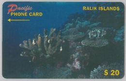 PHONE CARD- RALIK - ISOLE MARSHALL (E27.38.6 - Marshall Islands