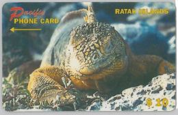 PHONE CARD- RATAK- ISOLE MARSHALL (E27.39.1 - Marshall Islands