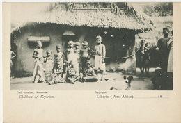 Liberia West Africa Children Of Veytown Carl Schultze Monrovia - Liberia