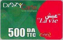 PREPAID PHONE CARD- ALGERIA (E28.1.5 - Algeria