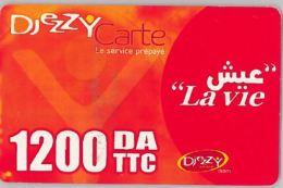 PREPAID PHONE CARD- ALGERIA (E28.1.6 - Algeria