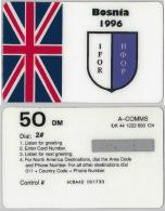 PREPAID PHONE CARD- BOSNIA-HERZEGOVINA (E28.2.7 - Bosnia
