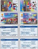 LOT 4 PREPAID PHONE CARD- CINA (E28.13.5 - Cina
