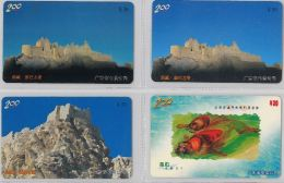 LOT 4 PREPAID PHONE CARD- CINA (E28.14.1 - Cina