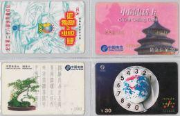 LOT 4 PREPAID PHONE CARD- CINA (E28.15.1 - Cina