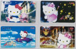 LOT 4 PREPAID PHONE CARD- CINA (E28.17.1 - Cina