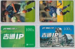LOT 4 PREPAID PHONE CARD- CINA (E28.15.5 - Cina