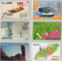 LOT 6 PREPAID PHONE CARD- CINA (E28.24.1 - Cina